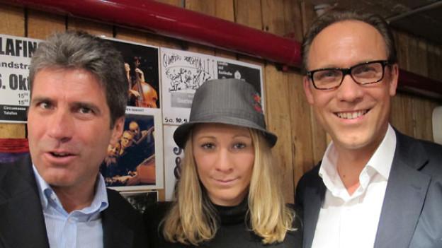 Markus Jordi, Daniela Ryf und Christian Zeugin