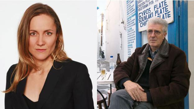 Barbara Lüthi, Korrespondentin in China und Werner van Gent, Korrespondent in Griechenland.