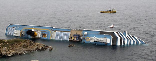 Die «Costa Concordia» bot in 1500 Kabinen Platz für 3780 Passagiere und rund 1100 Besatzungsmitglieder, ist 290 Meter lang und rund 40 Meter breit.