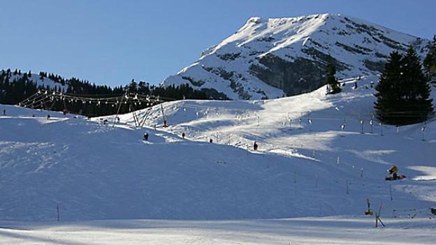 Skigebiet Wiriehorn.
