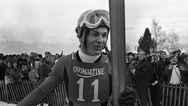 Bernhard Russi in der 1970er Jahren.