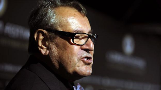 Milos Forman beim Filmfestival in Zürich, 2010.