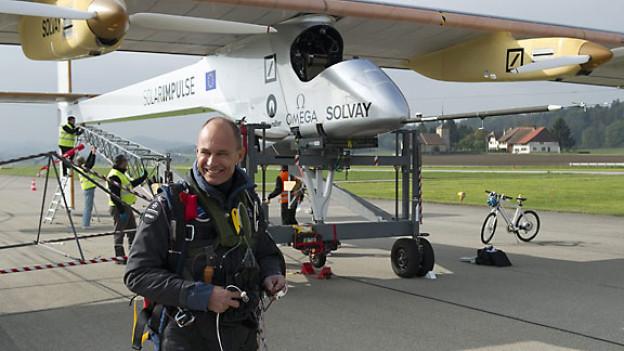 «Solar Impulse»-Teamchef Bertrand Piccard, Oktober 2011.