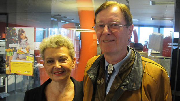 Marlene Dietrich und Beat Theodor Wirth zu Gast im «Treffpunkt» auf DRS 1.