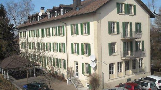 Durchgangszentrum Sonnbühl in Oberembrach.