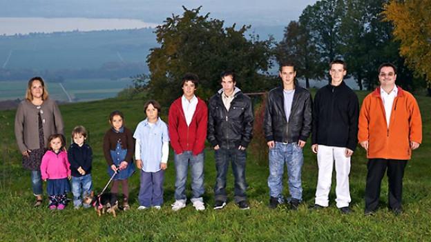 Grossfamilie Theytaz.