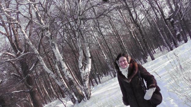 Madeleine Lüthi liebt ihre Spaziergänge.