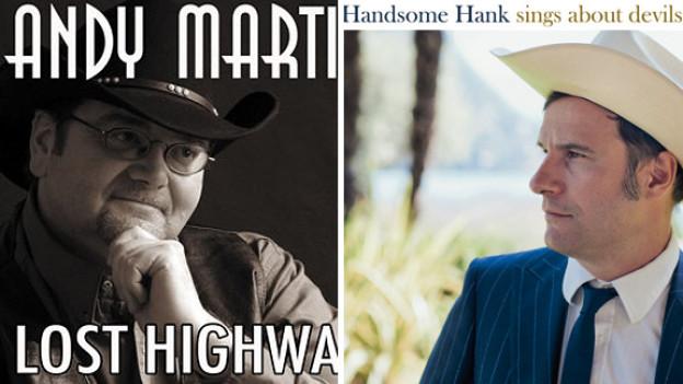 Andy Martin und Handsome Hank.