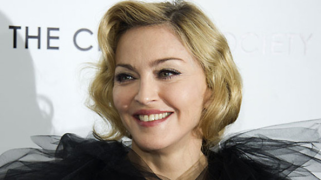 Madonna an der Première ihres ersten Spielfilms «W./E.».