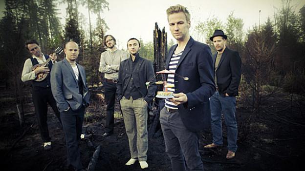 Folkrockband «Kummerbuben»
