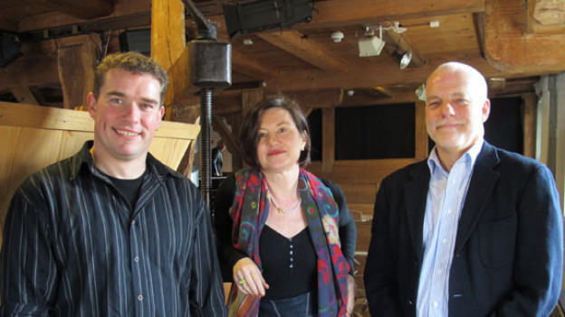 Adrian Gygax, Katharina Kilchenmann und Jürg Montalta