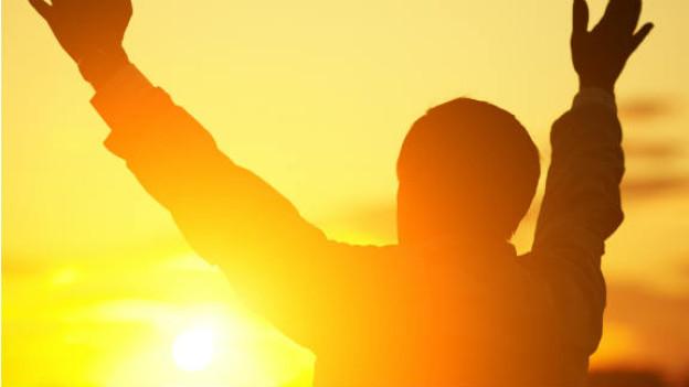 Sonnenstrahlen machen glücklich und gesund: Dank ihnen kann unser Körper Vitamin D entwickeln.