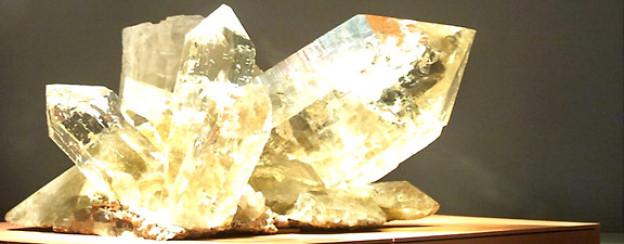 Ein Bergkristall.