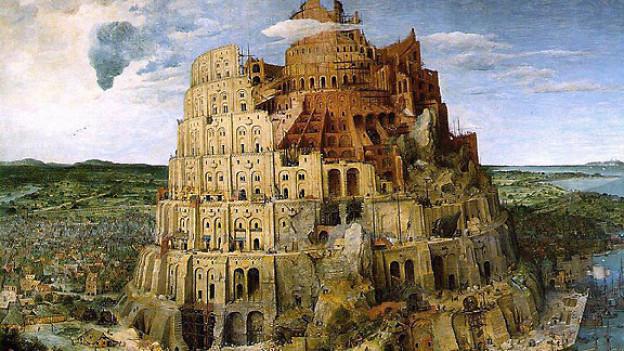 Der Turmbau zu Babel von Pieter Brueghel, 1563.