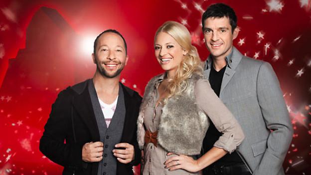 Die Jury: DJ BoBo, Christa Rigozzi und Roman Kilchsperger.