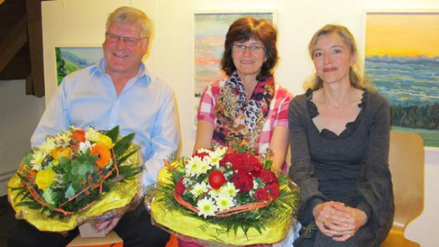 v.l.n.r. Andreas Bohnenblust, Rosi Bösiger und Anita Richner.