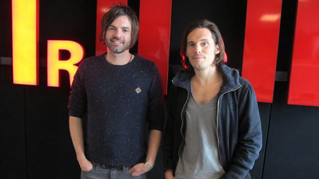 Gitarrist Thomas Rechberger (links) und Sänger Adrian Sieber.