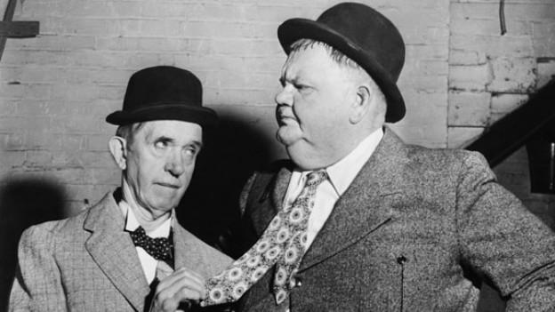 Laurel und Hardy in «Dick und Doof»