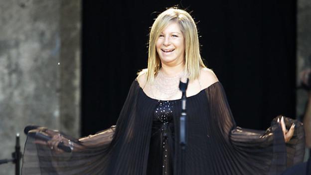 Barbra Streisand in Berlin.