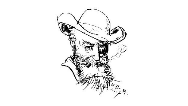 Wilhelm Busch, Erfinder des Comics und Meister heiterer Lebensweisheiten, wäre der Nachwelt gerne auch als Maler in Erinnerung geblieben.