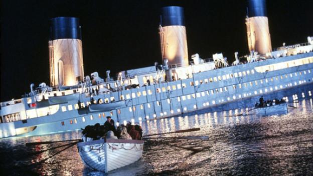 Szene aus dem Film «Titanic» von James Cameron.
