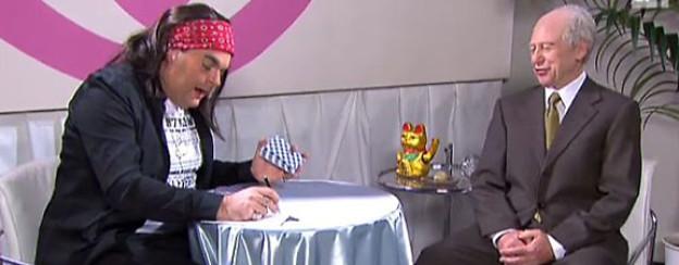 Mike Müller und Viktor Giacobbo als Shiva und Maurer.