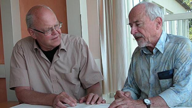 Christian Schmid und Peter Eggenberger.