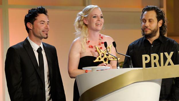 Rickenbacher, Kisha und Reto Burrell gewannen den Prix Walo 2012.