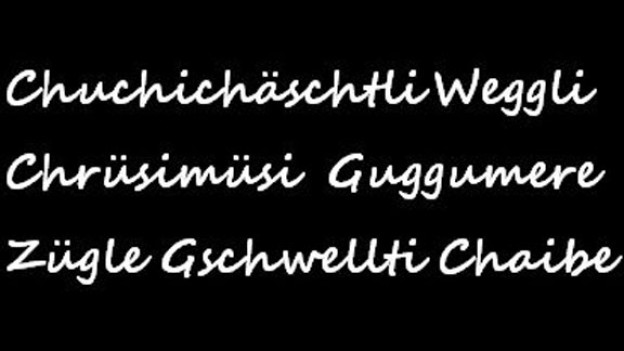 Nicht alle Deutsche stellen sich in der Schweiz dem Chrüsimüsi unserer Dialekte.