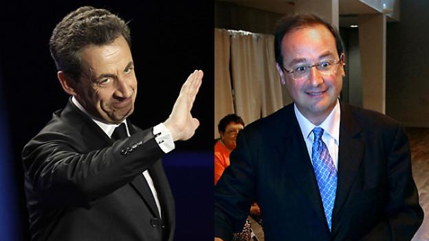 Wer wird Frankreichs nächster Präsident: Nicolas Sarkozy oder François Hollande?