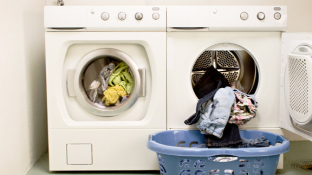 In wahrscheinlich jedem Hotel Mama 24 Stunden im Betrieb: Die Waschmaschine.