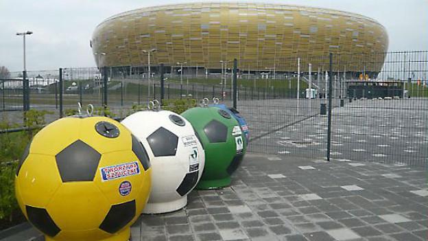 Die Baltic Arena in Danzig.