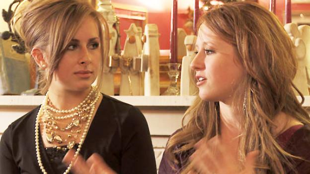 Szenenbild aus dem Film «Virgin Tales». Jordyn links und Khrystian.