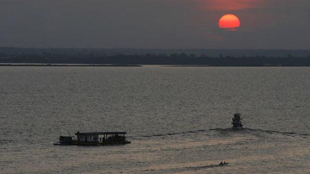 Beat schwelgt in Erinnerungen an den Rio Negro in Brasilien.