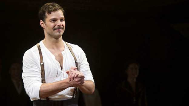 Ricky Martin bei der neuen Broadway-Produktion von «Evita» in New York.