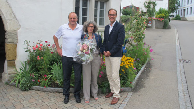 Ota Danek, Marianne Stamm und Christian Zeugin
