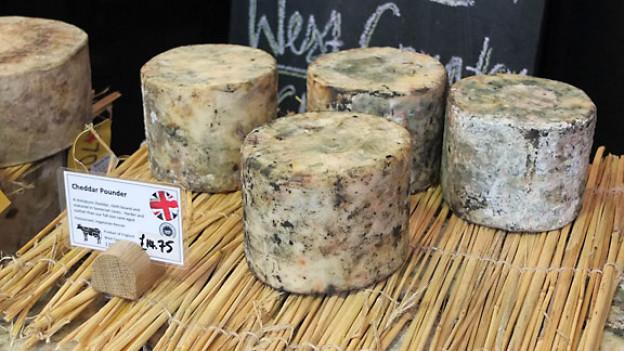 Cheddar – eine der berühmtesten Käsesorten aus Grossbritannien.