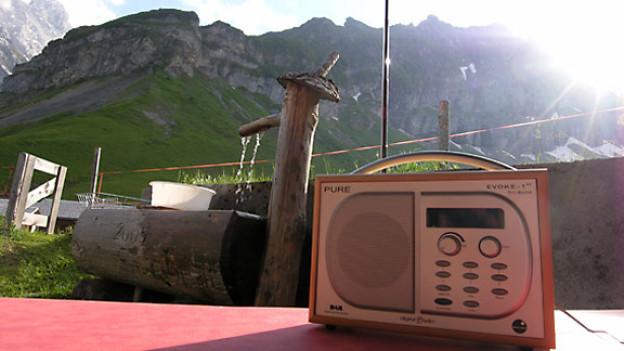 Im Bad, in der Küche – oder auf der Alp: DAB ist als Ersatz des klassischen «Küchenradios» ein grosser Erfolg.