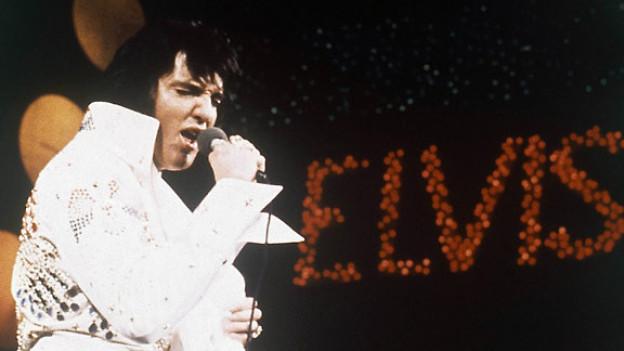 Elvis Presley, the King of Rock 'n' Roll, 1972.