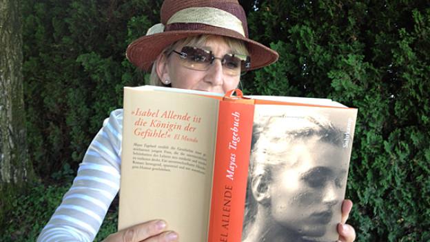 """Für Luzia Stettler ist «Mayas Tagebuch» ein typischer """"Allende""""-Roman: sinnlich, temporeich und geheimnisvoll."""