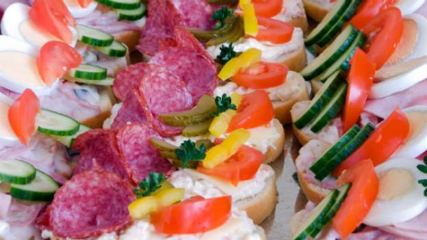 Kaltes Essen ist oft fettig und weniger nahrhaft.