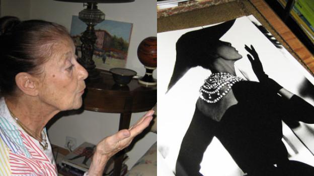 Barbara Morel Mullen und «The Kiss» von Lilian Bassmann.