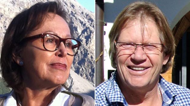 Christa Schauer und Guido Lindemann sind am 23. September 2012 zu Gast bei Daniel Hitzig in der Sendung «Persönlich».
