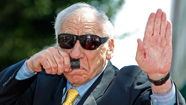 Mel Brooks ist in Hollywood der jüdische Experte für Hitler-Witze.
