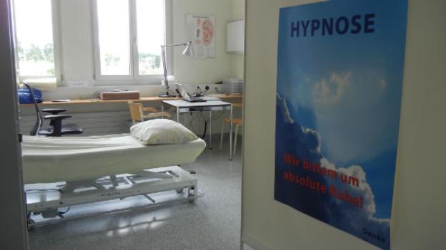 Die medizinische Hypnose hält immer öfter Einzug in Spitalzimmer und Arztpraxen.