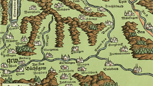 Ausschnitt aus Buchcover «Hügelland».