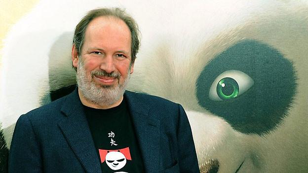 Hans Zimmer an der Première von Kung Fu Panda 2 in Hollywood, Mai 2011.
