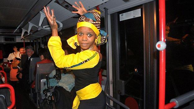 Tänzerin Marguerite Lalèylê.