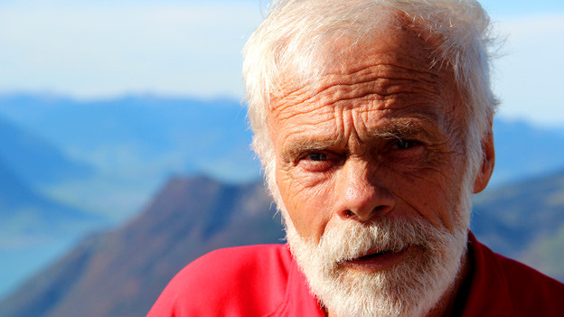 Ein Mann, ein Berg, eine ganz grosse Leidenschaft: «Am schönsten sind die Aufstiege frühmorgens, dann kann ich den Sonnenaufgang auf dem Gipfel geniessen», sagt Mythen-Bezwinger Armin Schelbert.
