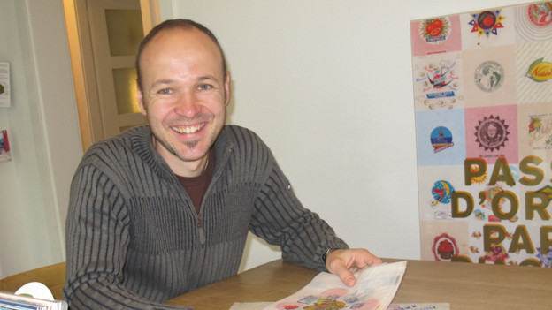 Der Sammler Michael Flückiger.